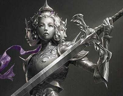 Knight Concept - Iron Maiden