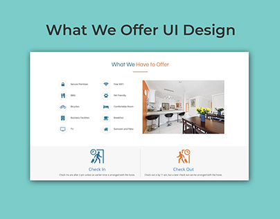 What We Offer Sectin UI