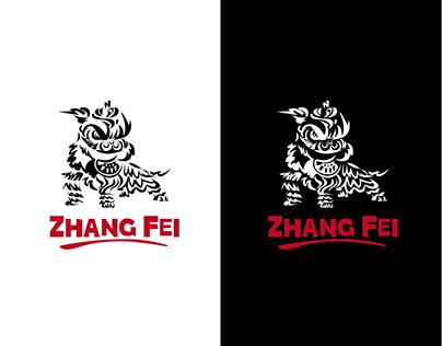 zhang fei -kung fu martial arts school- logo redesign