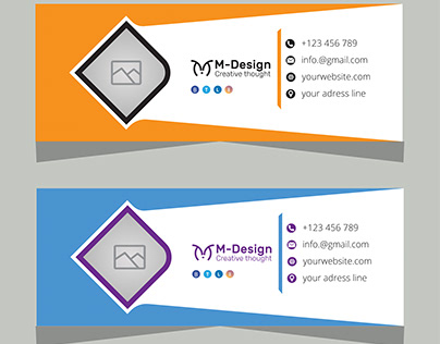Email signature design (Approved by shutterstck)