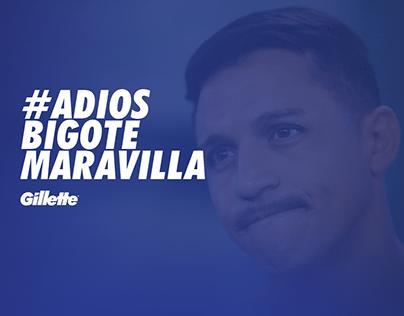 Gillette · #AdiosBigoteMaravilla