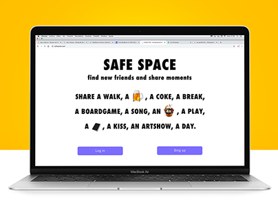 App design, SAFE SPACE