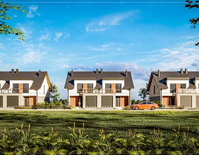 Semi Houses - Poland - Kiełpino