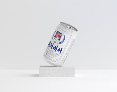 Haechi Seoul Beer Branding