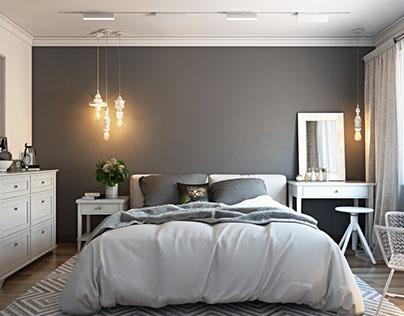 Rendering Interior for Bedroom Project