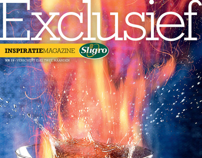 Exclusief Magazine #19 - Vuur (Fire)   Sligro