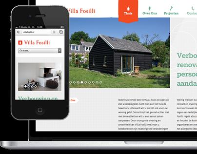 Branding & website Villa Fosilli