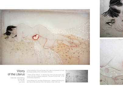 Illustration Design Portfolio插画设计作品集 By.马克笔设计教育