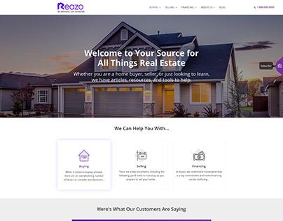 Real Estate Web Template