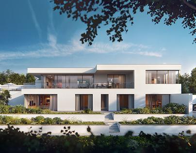 Garden terrace villa