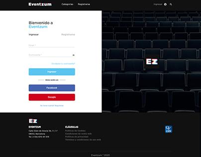 Eventzum - Events App
