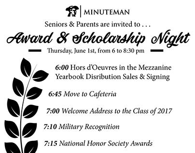 Award & Scholarship Night + Graduation