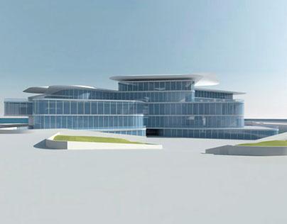 Nobel Center - 3D Modelling