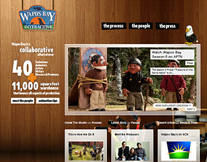 Wapos Bay TV Show Website