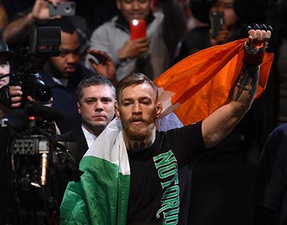 Conor McGregor: Fight Night Graphics