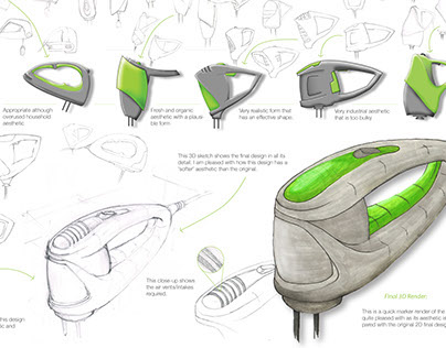 Hand Mixer Redesign Assessment Project