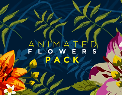 Animated Flower Pack