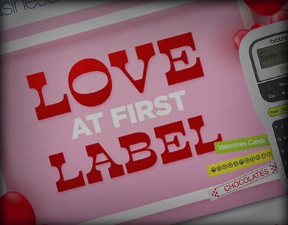 February Labeling Love Promotional Email