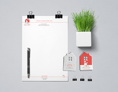 A Mouse with a House Stationery