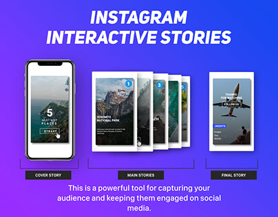 Instagram Interactive Stories + Free Template