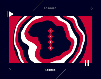Borgore / H A R D E R (Motion Graphics)