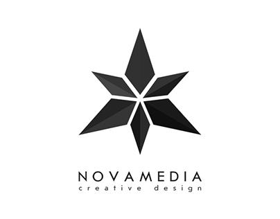 """NovaMedia"" logo"