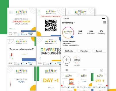 Instagram Feed for GDG DevFest Bandung 2019