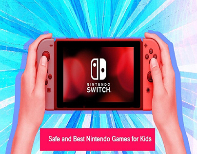 Safe and Best Nintendo Games for Kids