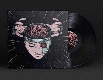 INSIDE THE POSITRONIC BRAIN • Cover Artwork