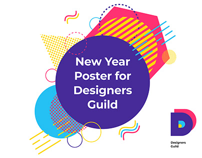 New Year Poster for Designers Guild