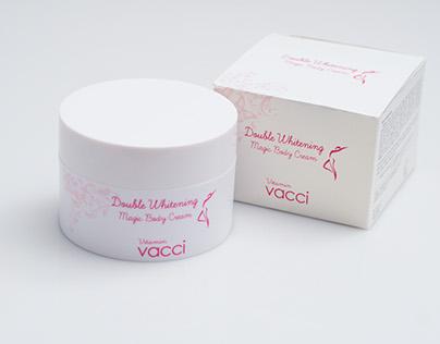Kem dưỡng trang điểm trắng da toàn thân - Vacci Double