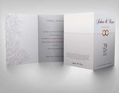 Wedding Invitation Card Template Vol.18