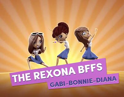 Unilever: Rexona Teens - Animated Content