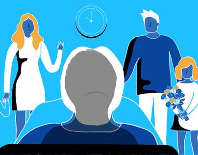 Medical training animation