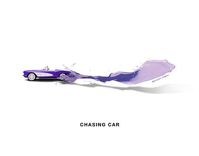 Chasing car