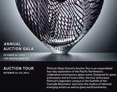 Pilchuck Glass School marketing materials