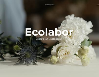 """Дизайн интернет-магазина """"Ecolabor"""""""