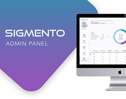 Sigmento- Admin Panel
