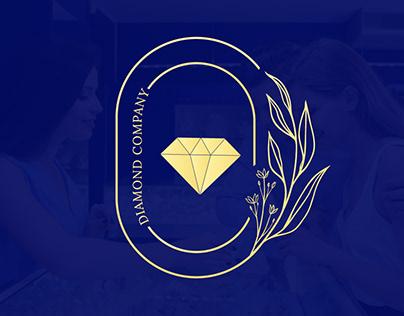 Logo Design | luxury logo | Diamond | fashion