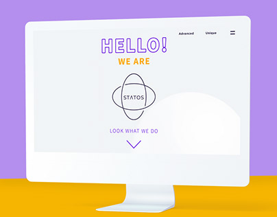 Statos - Branding and website