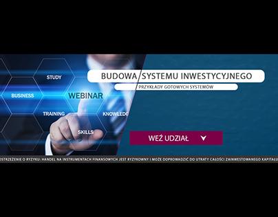 Banner ad for the webinar