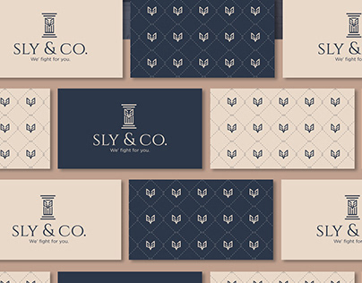 Sly&co. - law office Visual identity