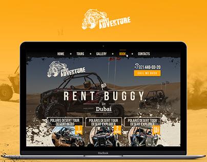 Rent Buggi in Dubay. Web Design