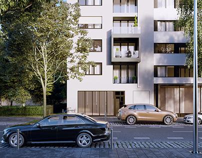 CGI: Residential building in Berlin, Germany