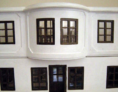 The Museum of Vuk and Dositej Architectural Model