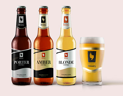 Phoenix Brewery Brand Design