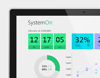 SystemOn - Windows 8 App