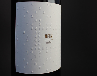 Infini wine label