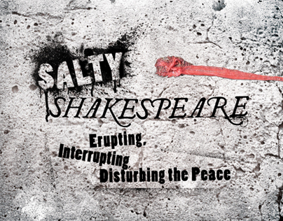 Salty Shakespeare Logo / Branding