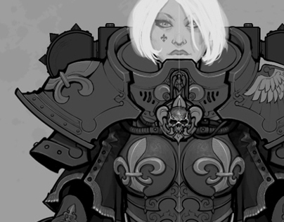 Adepta Sororitas ( + Tactical Dreadnought Armour! )